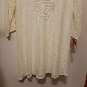 Xhilaration Dresses - Ivory summer dress